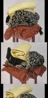 Fabric Pack 8 by TwilightAmazonStock