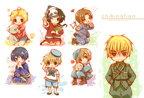 APH: Chibinations by arielucia