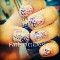 Girly Glitter by FatimattiDesigns