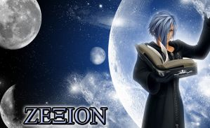 Zexion Wallpaper by kyo4455