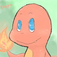 CHARMANDER. by Anonymoussence