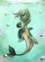 Commission: Seapony 2 by Jiayi