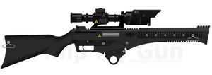 SR23 Scout Rifle by The-one-who-is