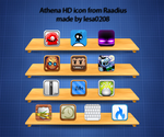 Athena HD icons by lesa0208