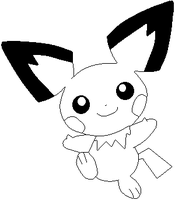 Pichu lines by Sulfura