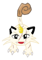 Purry the Meowth 2 by MikariStar