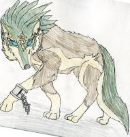 Wolf link by VexerRVixen