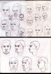 Study - African American People by BluezAce