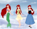 Ariel Dolls (simple) by M-Mannering