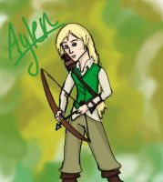 Art Trade: Aylen by MousieDoodles