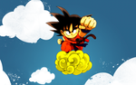 Goku Nimbus Cloud by MeSuperNinja