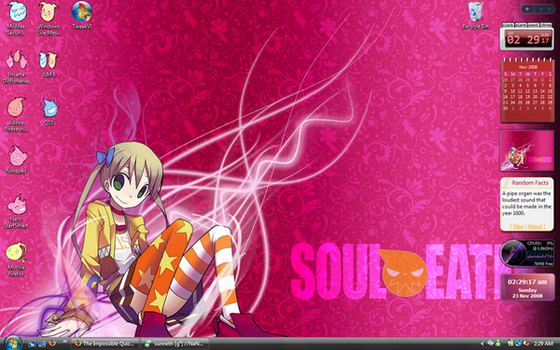 Desktop Screenshot: Soul Eater by Angelinstall