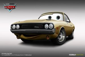 Disney Cars Commission_Karl by yasiddesign