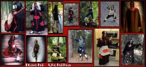 Itachi Uchiha Cosplays by pikabellechu