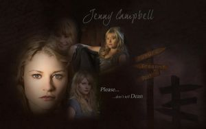 Jenny Wallpaper Dont tell Dean by Sharonxxx56