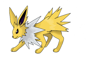 Jolteon by himanuts