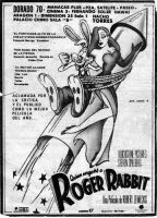 Roger rabbit  poster cohete by tolan68