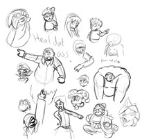 Doodle dump by SuperKoopaTroopa