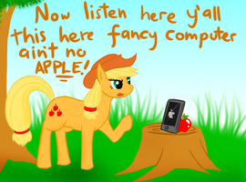 Apple by livinlovindude