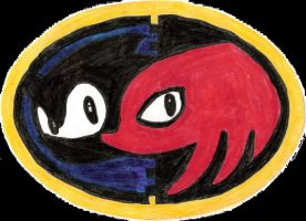 Sonic And Knuckles Logo by MariovsSonic2008