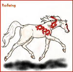 CoaH Stallion: Redwing by BlackGlassButterfly