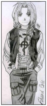 Edward Elric: Casual Clothes by KuroHane