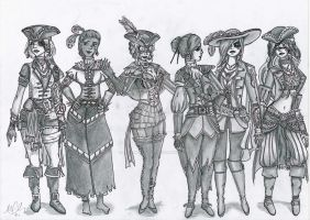Assassins Creed Black Flag Multiplayer Girls... by MimiKeks