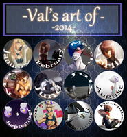 Art of 2014! by Phantasm-Val
