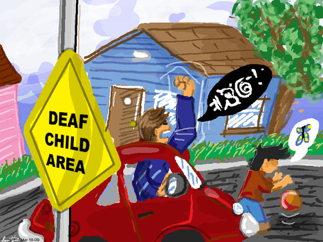 Deaf Child Area by iballoon