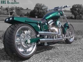 AMS Dragster Bike by UnlockableDreams