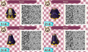 Robin ACNL QR Code by Rees-bees