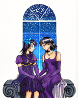 Princess and Lady of Saturn - Commission by Heart-of-Amethyst