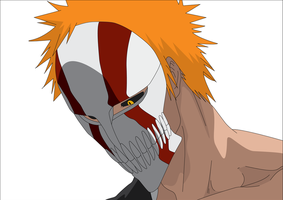Ichigo Hollow Mask by Havoc3001