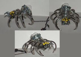 Junk Drawer Spider by Ember-lacewing