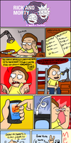 Rick and Morty Rushed Fan-comic part 1 by WinWinStudios