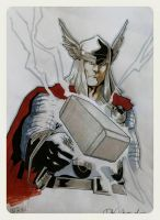 Thor sketch by elena-casagrande