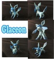 Weekly Sculpture: Glaceon by ClayPita