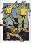 Donatello Over the Years by Strabius