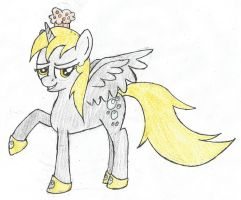 Derpy, Princess of Muffins by TuxRug