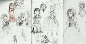 sketchs,., by X3carlyX3