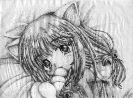 anime stipple by Treekami