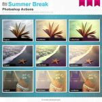 Summer Break Photoshop Actions by Wnison