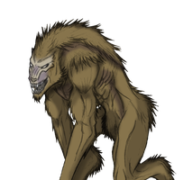 LOK Werewolf by Arrancarfighter