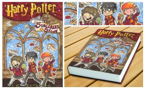 Harry Potter Cover Book 1 by SaltyMoose
