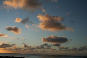 The Clouds In Shark's Cove Hawaii by Witch-Hunter-87
