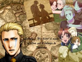 Germany and Italy Hetalia by itakesyourcakes