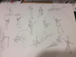 Gesture Drawings by connorlamping