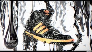 Adidas Black Gold - Style Frame Two by Capital---G