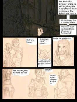 Dragon age origins, comic page 1 by lealea25