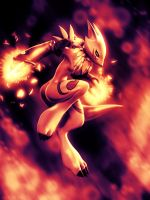 Sunset Renamon 10 by KP-ShadowSquirrel